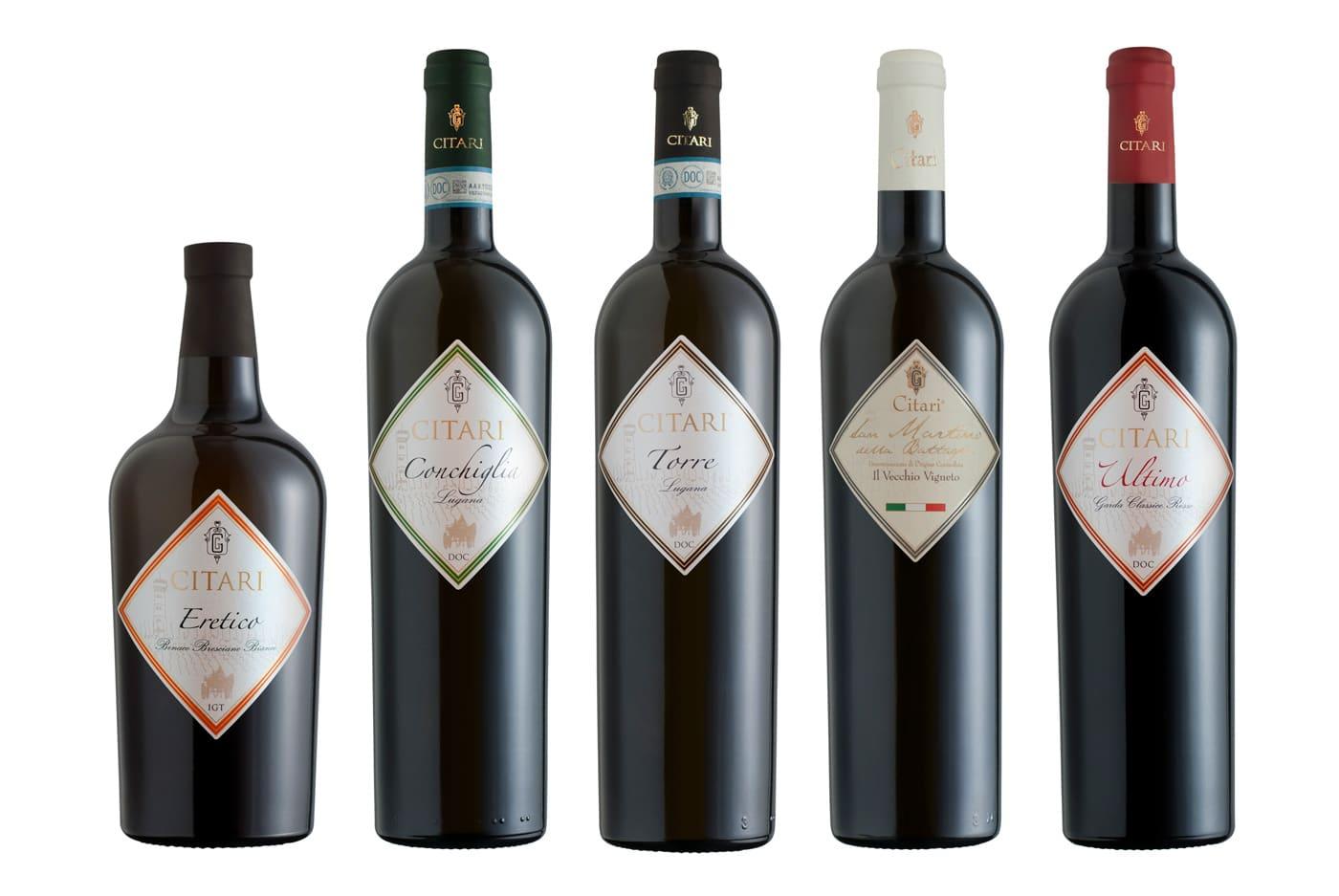 foto still life bottiglie di vino