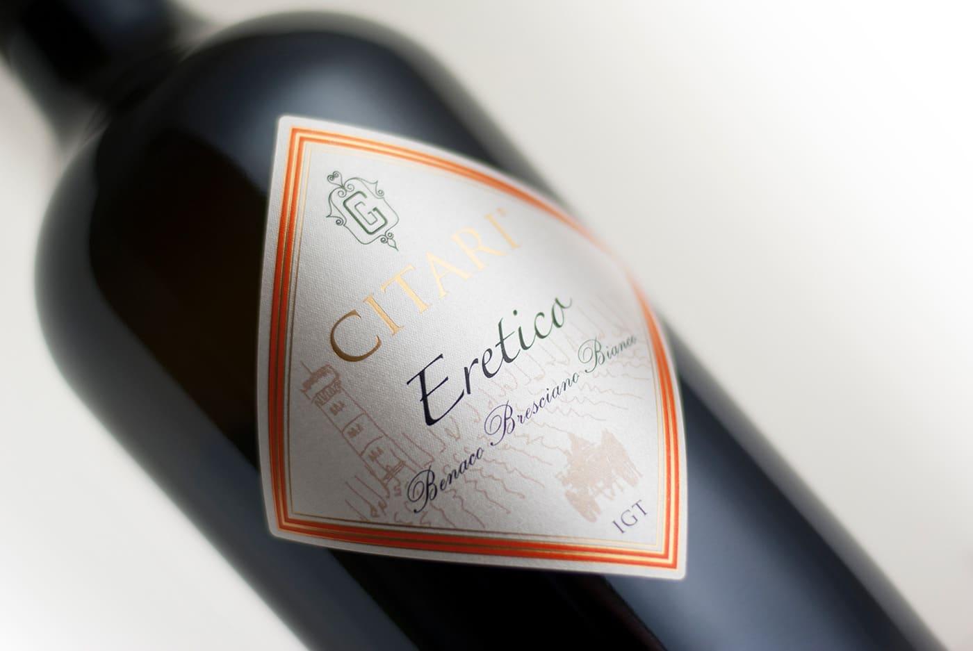 foto macro bottiglia vino