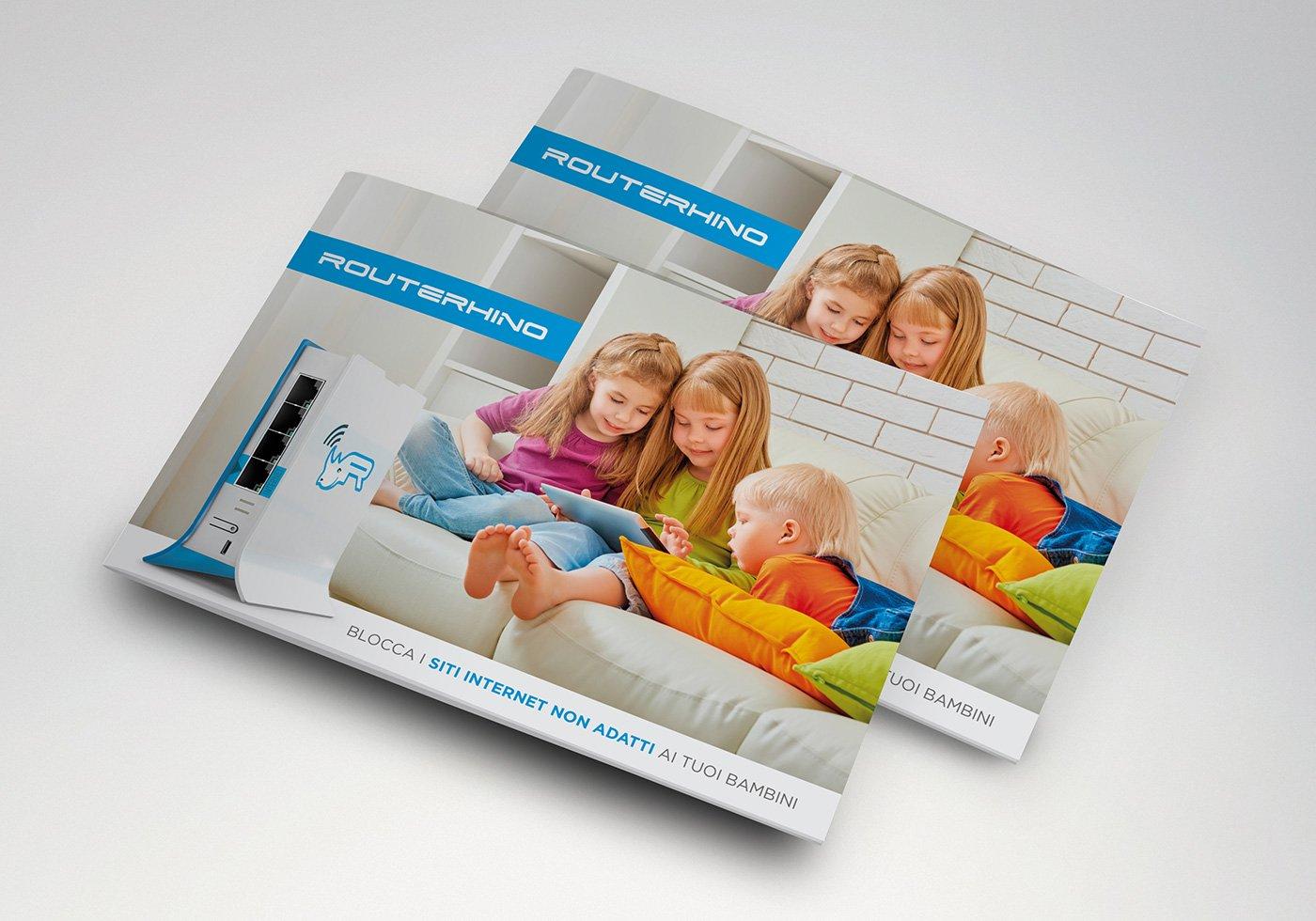 brochure presentazione prodotto