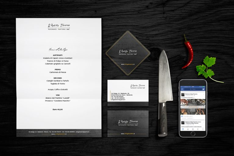 corporate identity ristorante