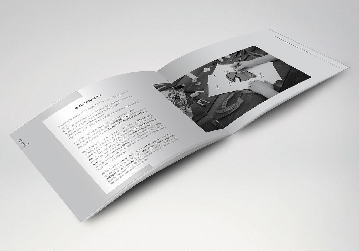 brochure abbigliamento Kedra-T