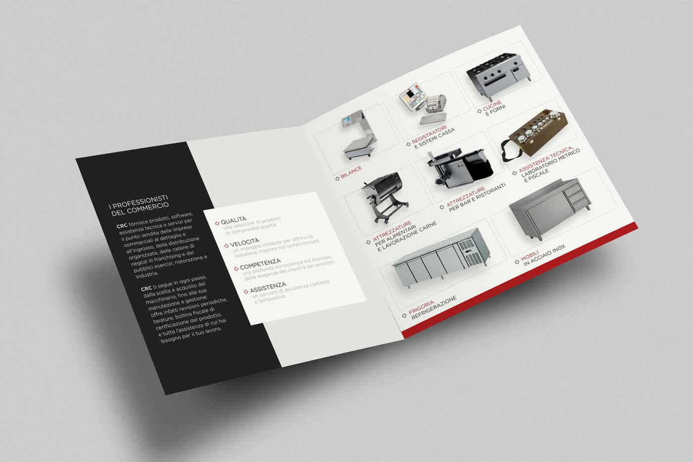 studio grafico brochure aziendale crc