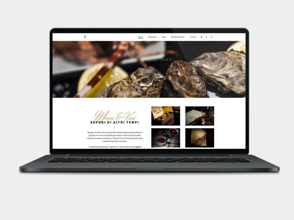 sito internet per ristorante