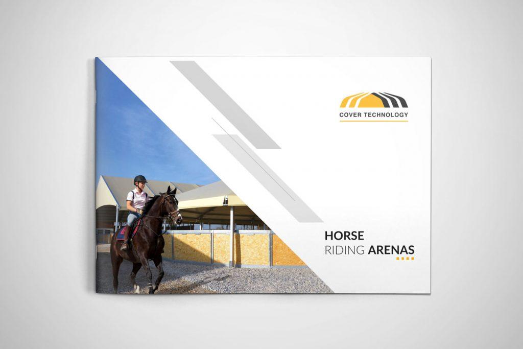 Brochure Cover Technology settore equitazione