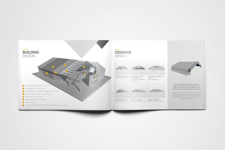 Brochure Cover Technology settore industriale