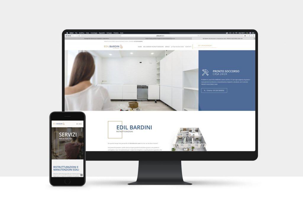 sito internet per settore edile