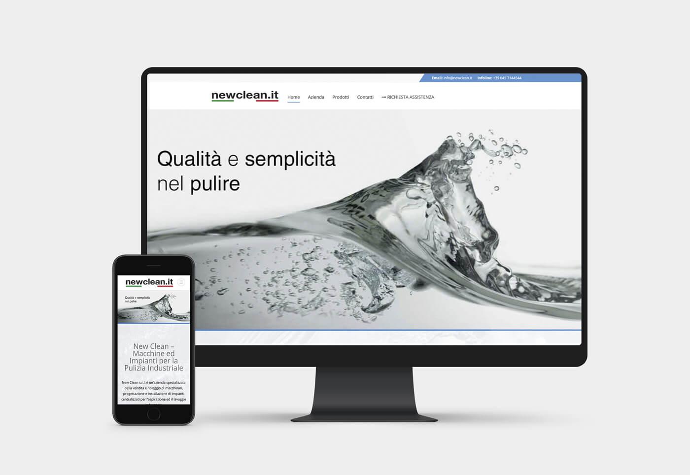 realizzazione sito internet azienda verona