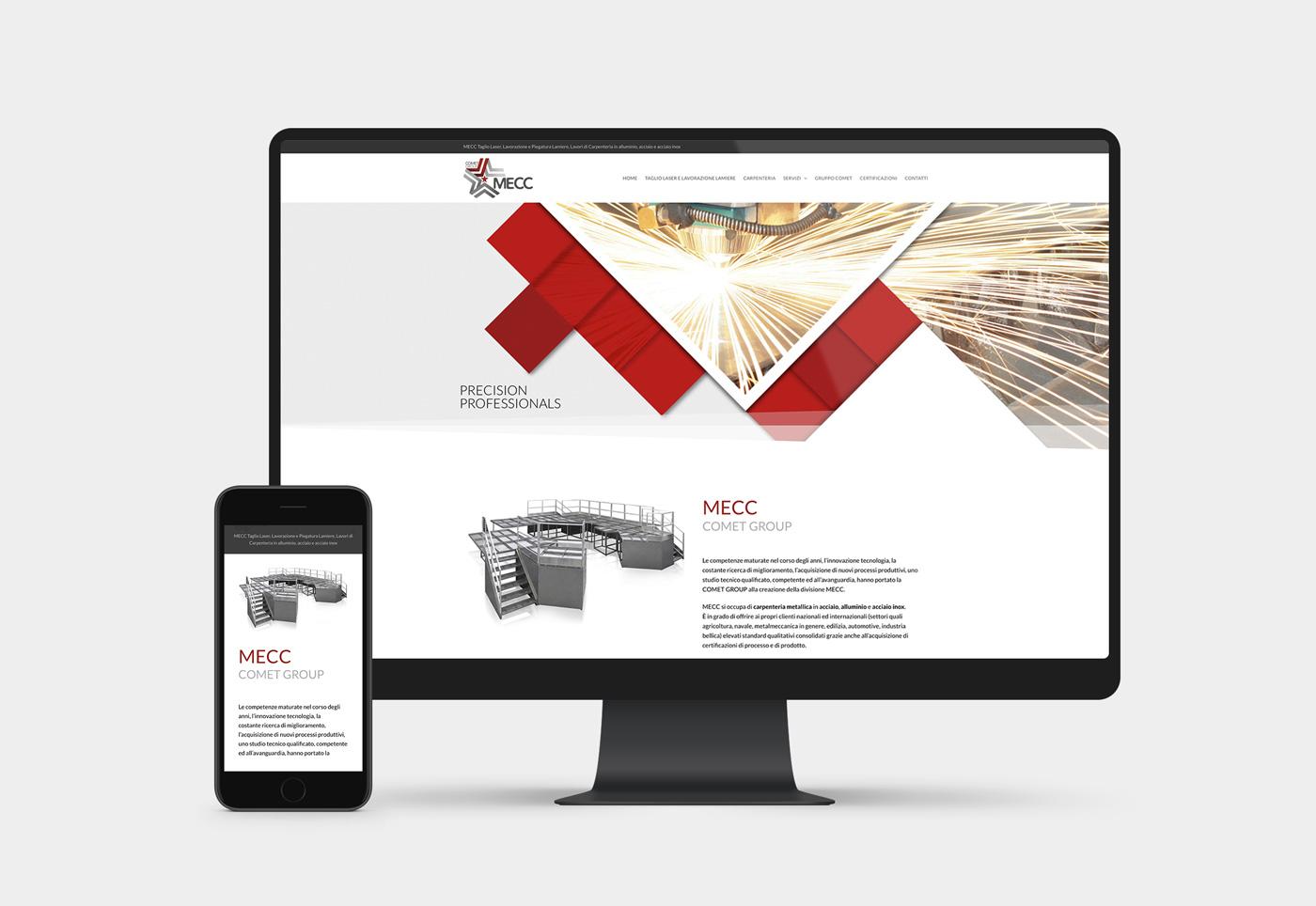realizzazione sito internet carpenteria e taglio laser
