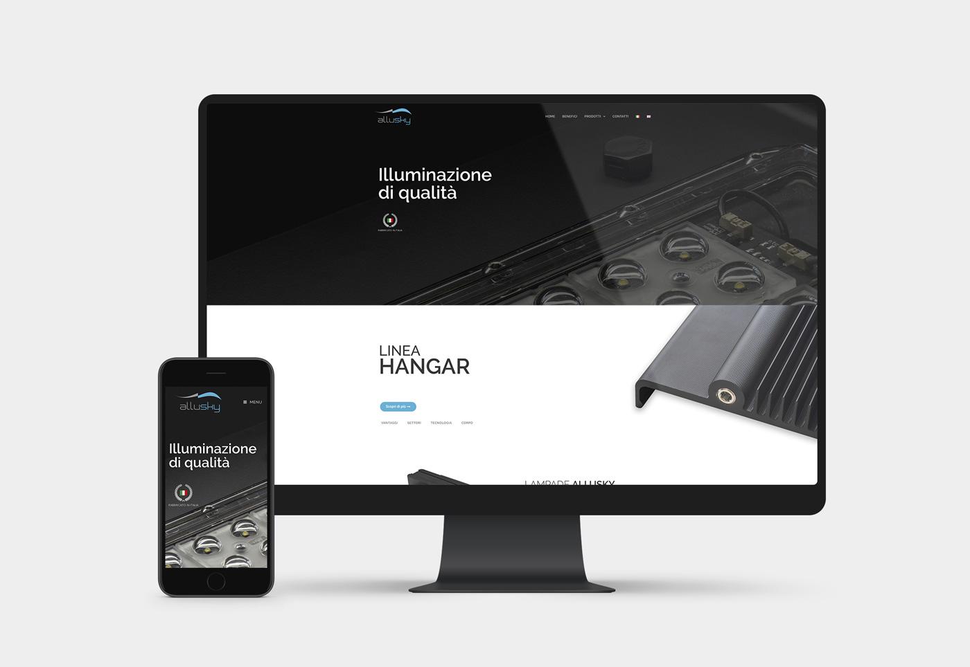 sito internet lampada design
