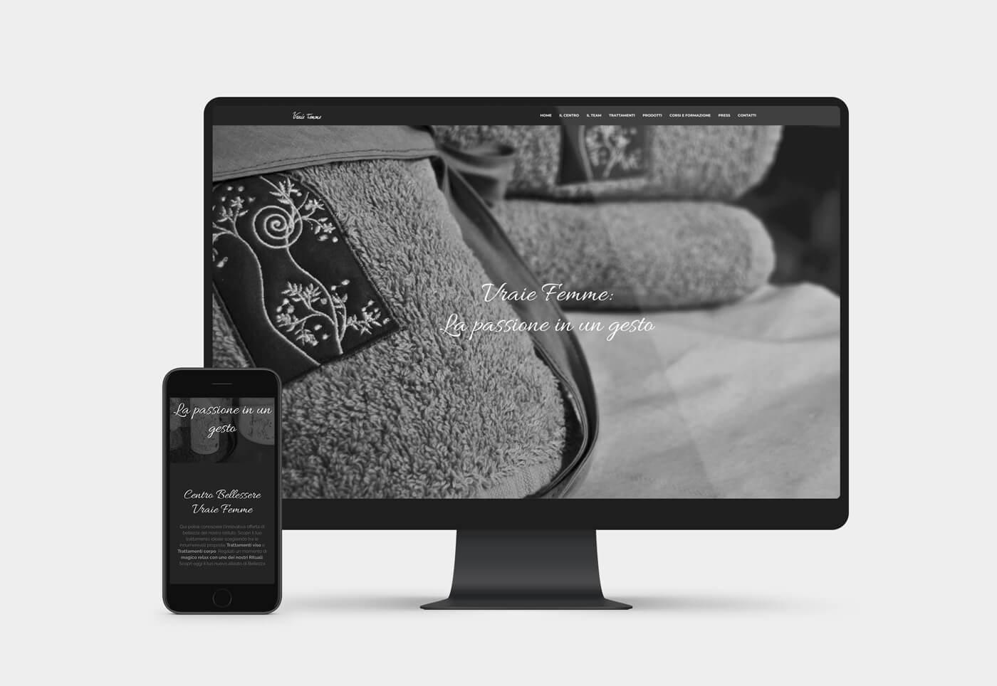 realizzazione sito internet estetica brescia