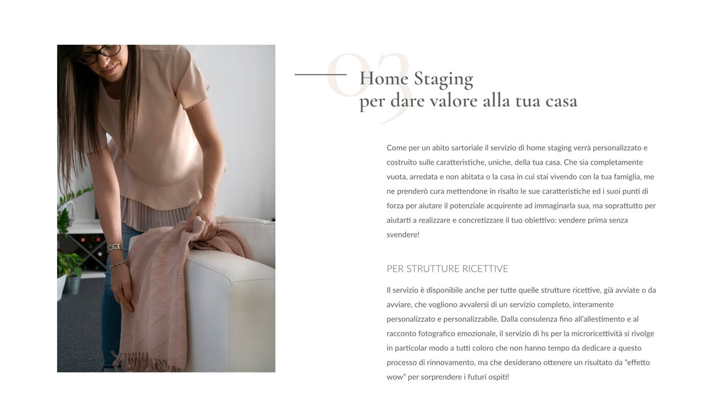 Restyling immagine e fotografia per Home Staging