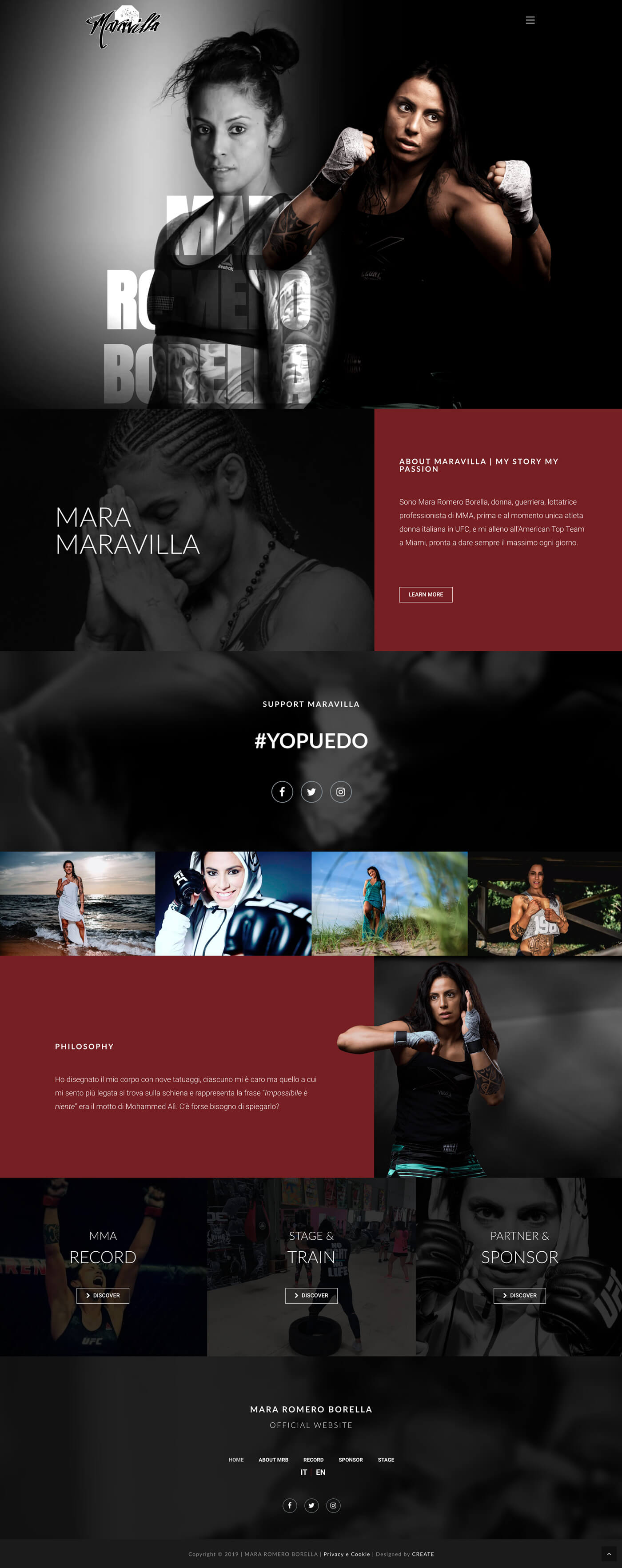 Mara Romero Borella Official Website