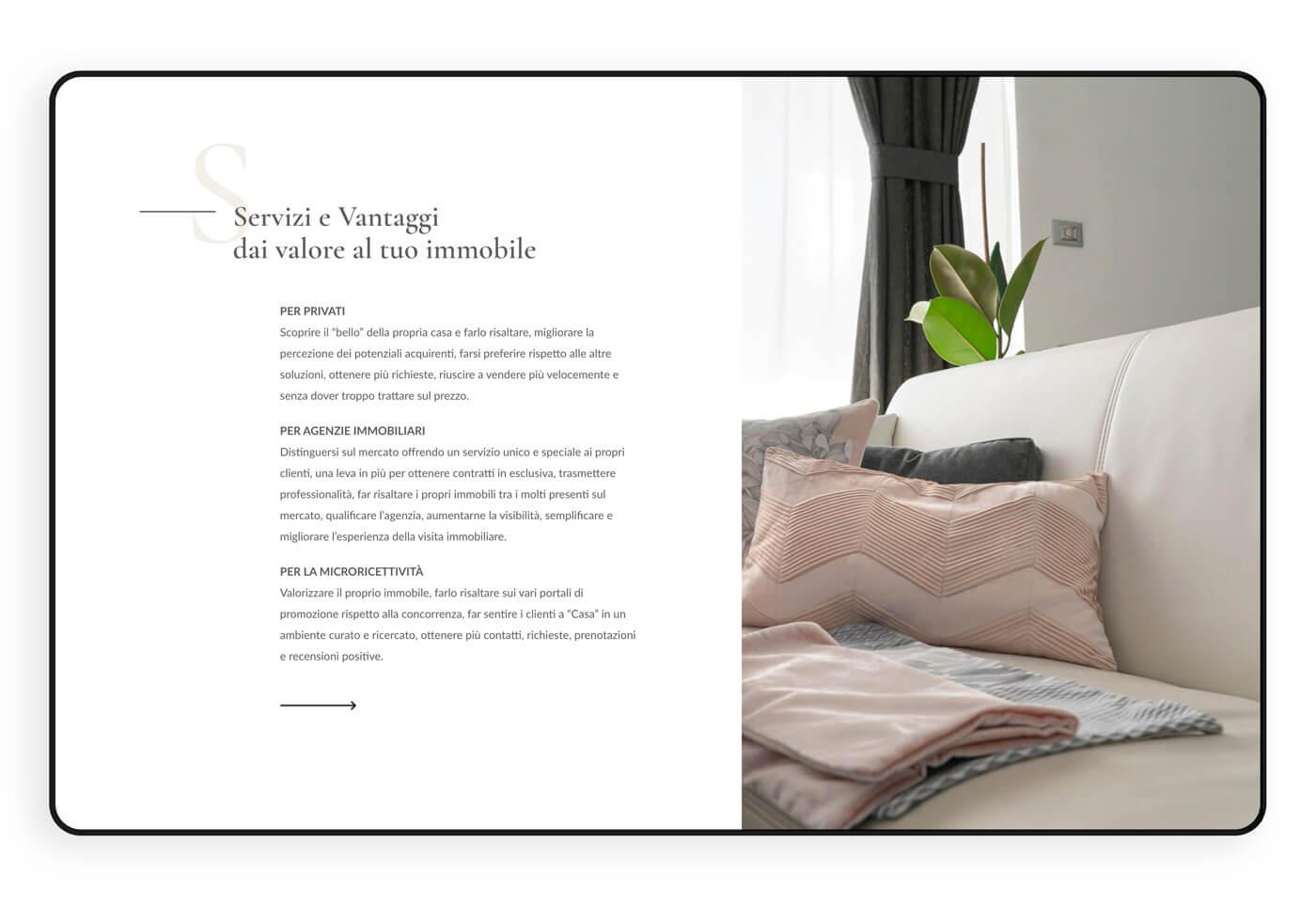 Servizi e vantaggi Home Staging