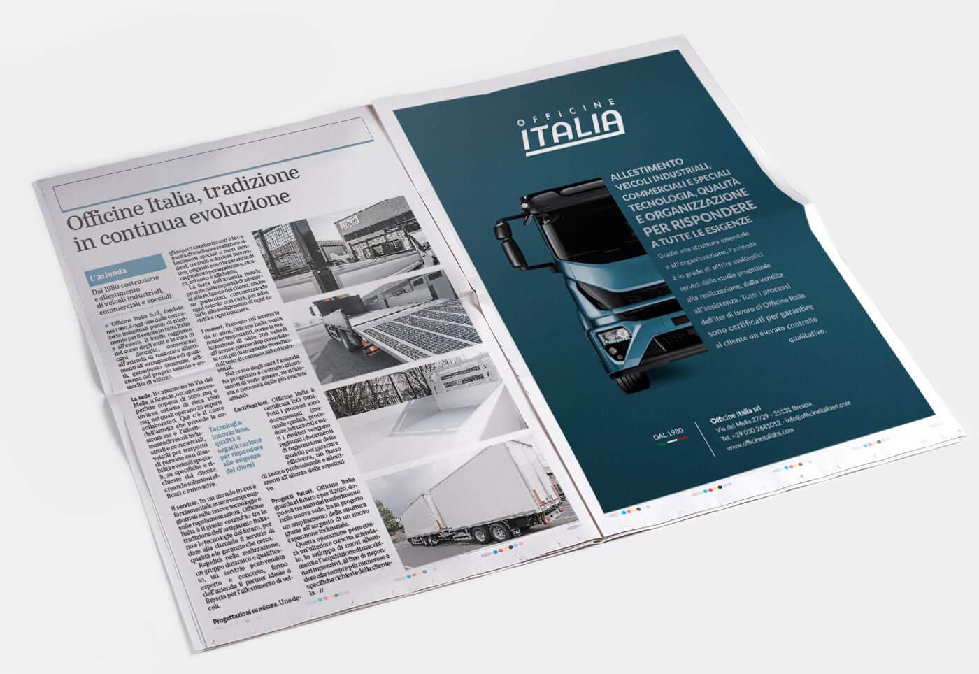 Realizzazione ADV per Giornale di Brescia