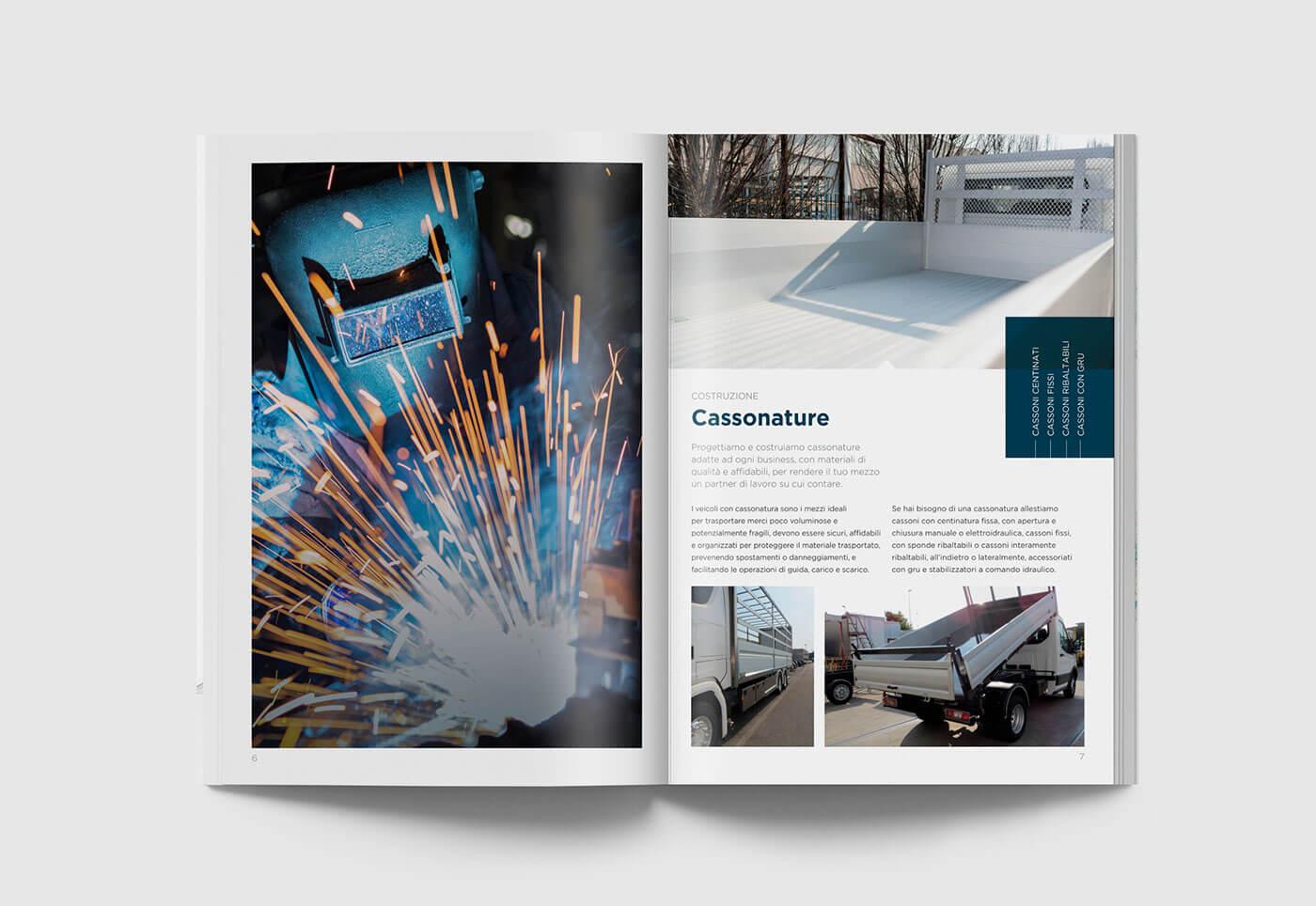 Brochure design Officine Italia srl